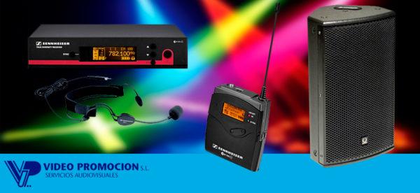 alquiler de equipos de sonido Marbella