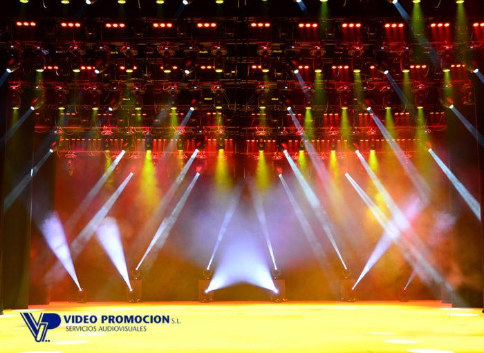 alquiler iluminación Málaga